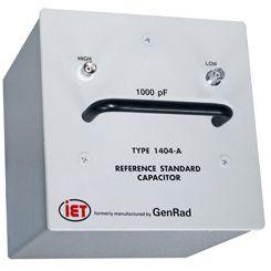 Tụ điện tiêu chuẩn chính của GenRad 1404 Series