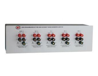 Bộ hiệu chuẩn Microohmmeter LOM-530 cho LOM-510A